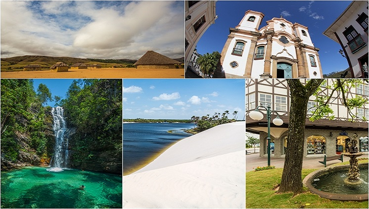 Novo mapa do turismo brasileiro tem recorde em número de regiões