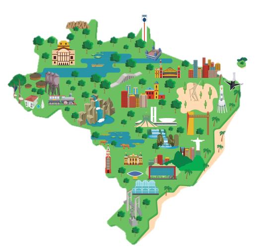 Mapa do Turismo Brasileiro tem novas regas